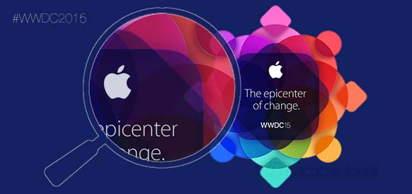 Logo de la WWDC 2015. Apple TV