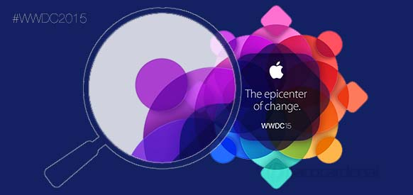 Logo de la WWDC 2015. Dispositivos o Apps